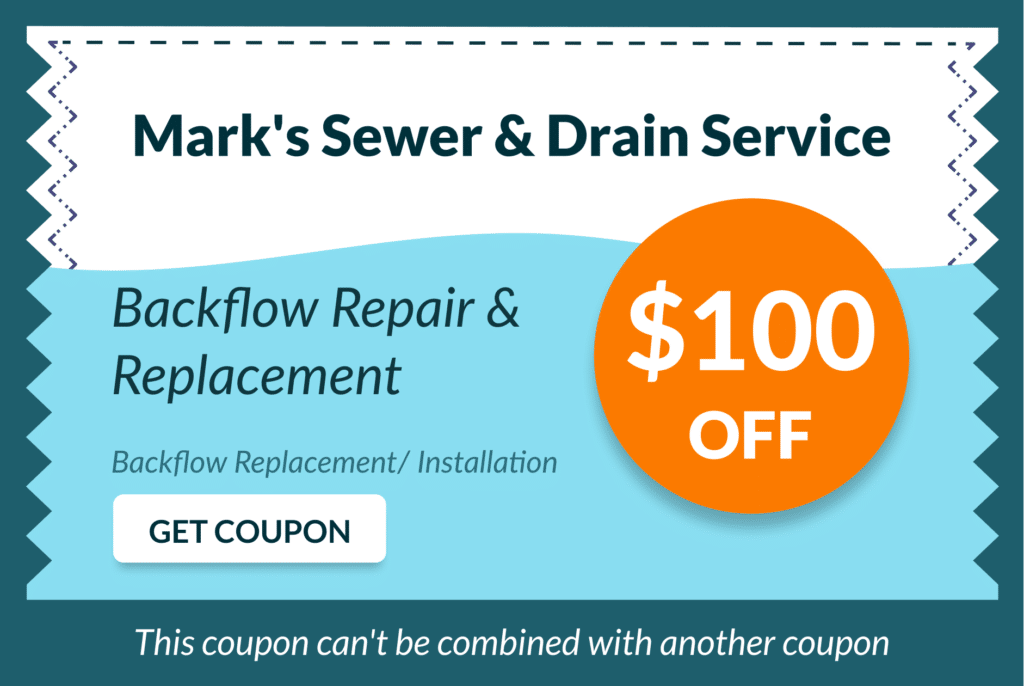 Mark's Sewer and Drain Service Coupon 11