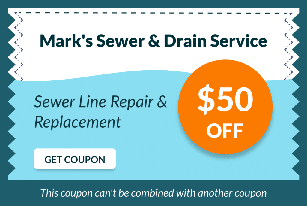 Mark's Sewer and Drain Service Coupon 8