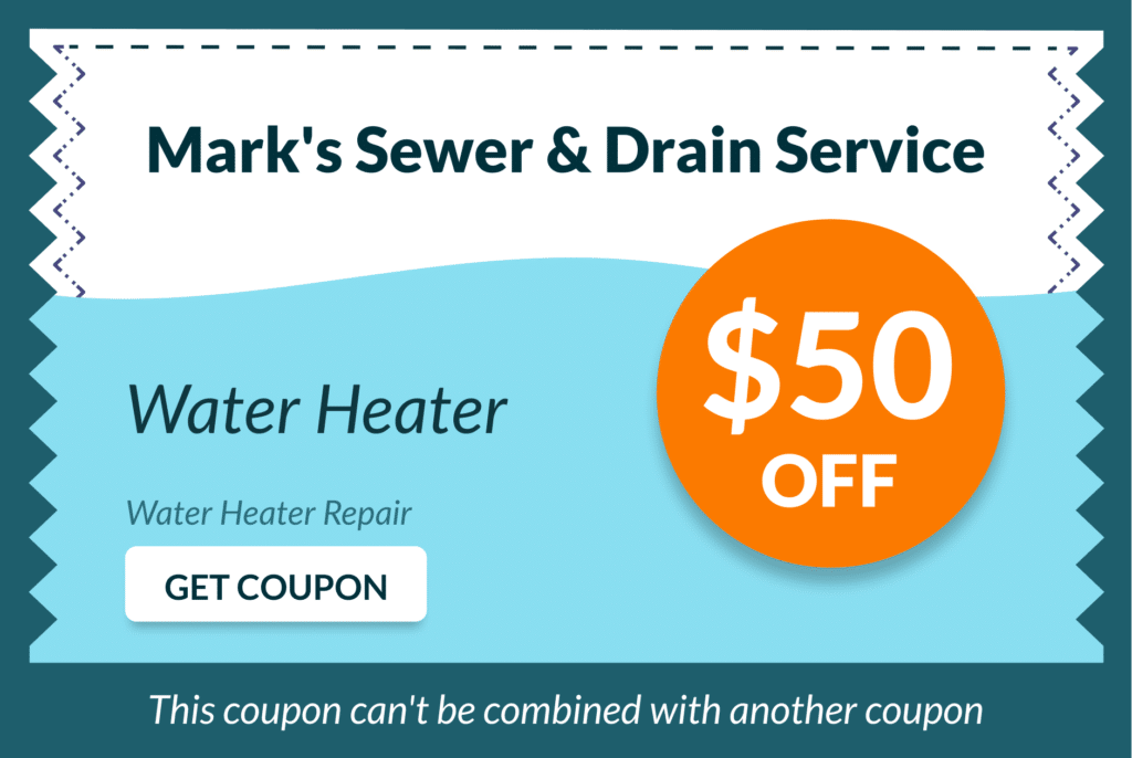 Mark's Sewer and Drain Service Coupon 12